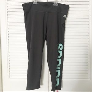 Adidas climalite sport cropped pants